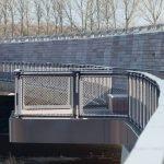 Balustrade for Bridges with Jakob Webnet Frames