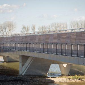 Bridge Balustrading on Ely Southern Bypass, Cambridgeshire