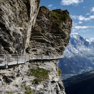 First Cliff Walk, Grindelwald, Switzerland