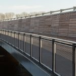 Jakob Webnet Frames for Bridge Balustrade